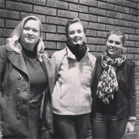 Disse flotte damene holdt hver sin spennende presentasjon om sin arbeidsplass. F.v.: Janne Stang Dahl, Hanne Røvig Schjold og Karianne Gjerstad.